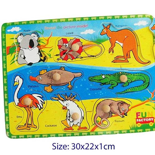 Australian Animals Puzzle