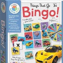 Bingo!  Things That Go