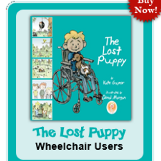 The Lost Puppy:  Limited Mobility & Wheelchair Use