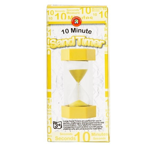 Large Sand Timers  10 minute