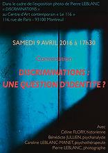 """""""Discriminations"""" une exposition photographique de Pierre Leblanc"""