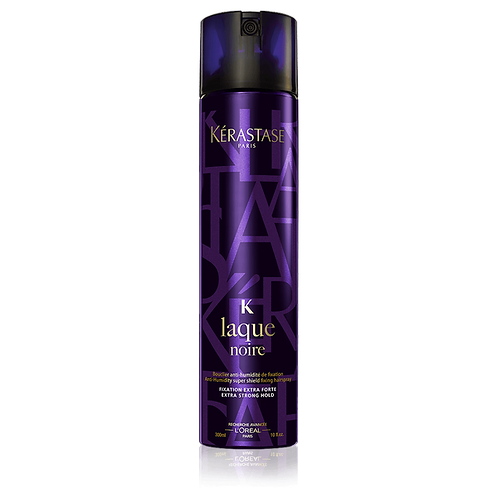 Kérastase STYLING Laque Noire Hair Spray  Strong hold hairspray.