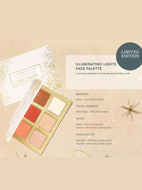 Jane Iredale Limited Edition Illuminating Lights Face Palette