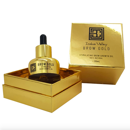 BROW CODE Brow Gold Stimulating Brow Growth Oil