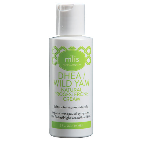 M'lis DHEA/Yam - Progesterone Cream 2 oz.