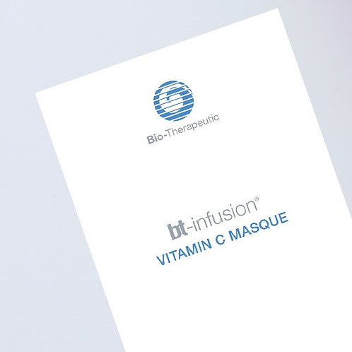 Bio-Therapeutic BT-infusion vitamin C mask