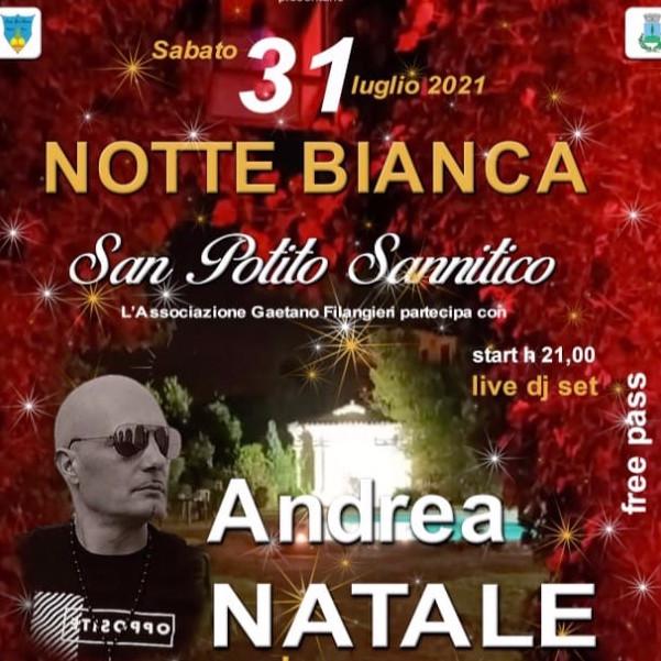 ANDREA NATALE dj set per LA NOTTE BIANCA