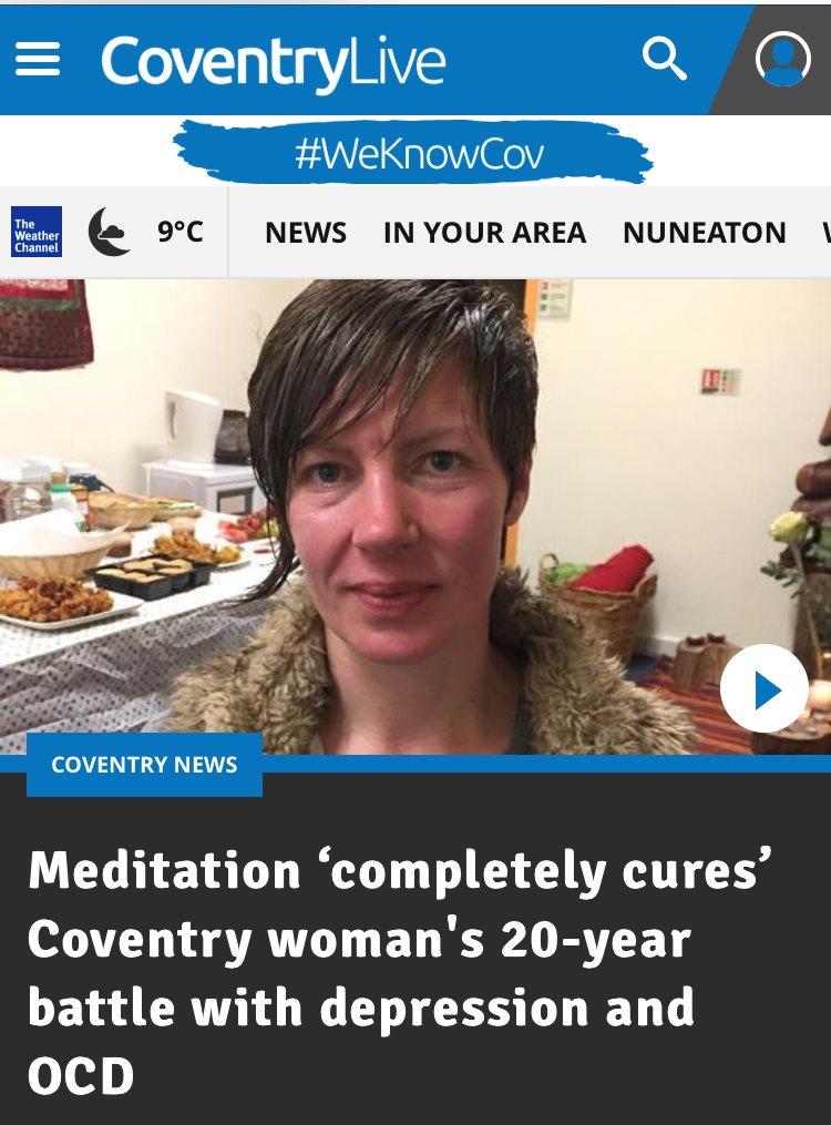 Mindfulness Meditation cures Jackie