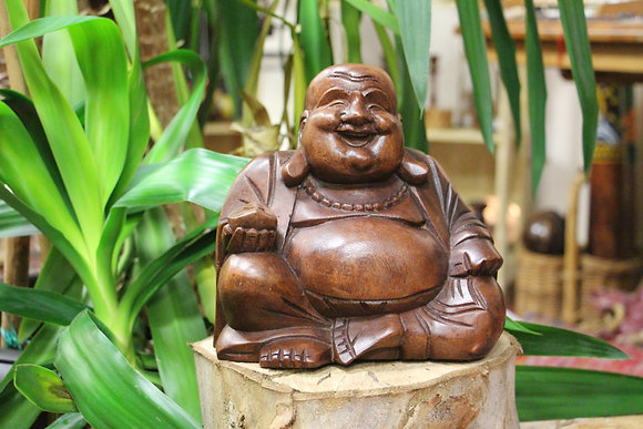 20 cm Hand Carved Buddha