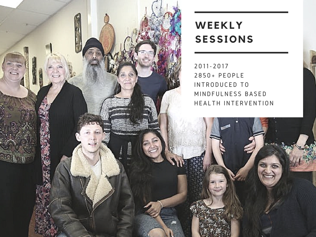 Weekly drop in sessions