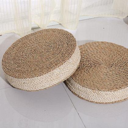 Handmade Yue straw tatami meditation Cushions