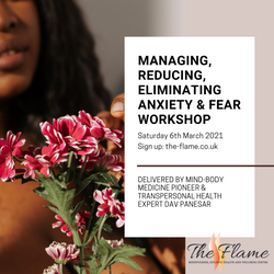 Reducing Anxiety & Fear workshop