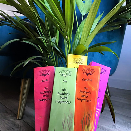 Mother India Incense packs x 5