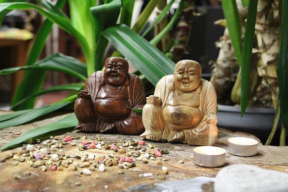 10 cm Hand carved Buddha