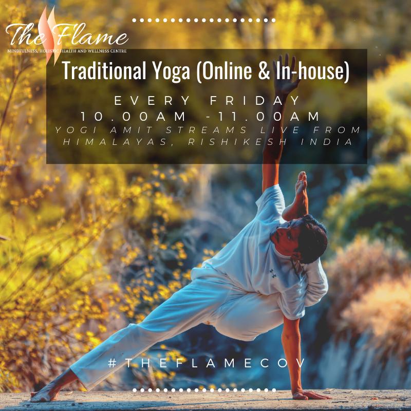 Indian Yoga with Yogi Amit