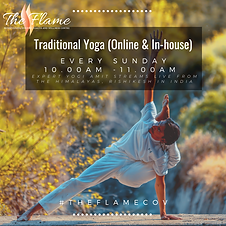 Copy of Traditional Yoga with Yogi Amit