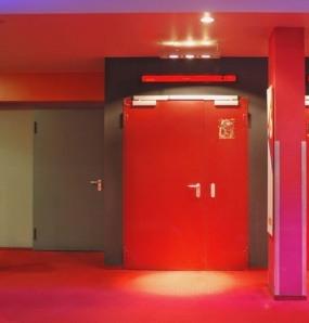 Porte Acier Coupe Feu System Portes Industrie - Porte coupe feu 2h