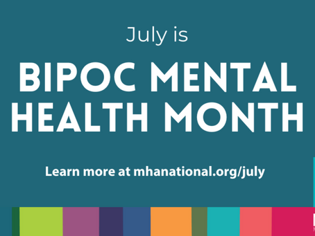 July is Minority Mental Health Month!