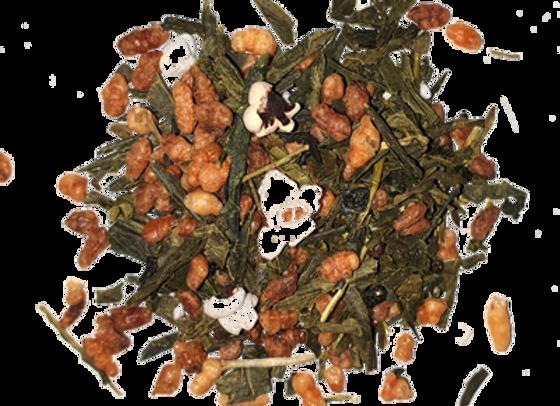 Genmaicha Popcorn Tea