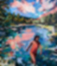 Large Figurative Oil Painting