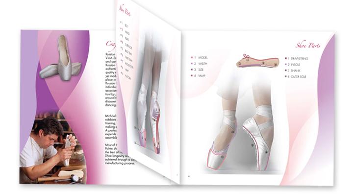 Catalog design - Russian Pointe