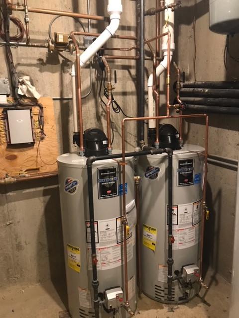 Water heater repair after