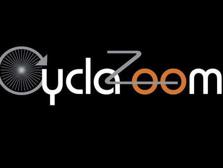 CyclaZoom logo design