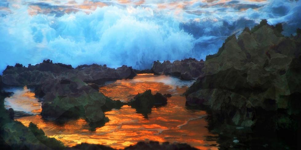 Rocks & Water - Val Kanevsky (Photo Exposition)