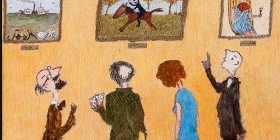 Творческий вечер и показ работ Александрa Войцеховского