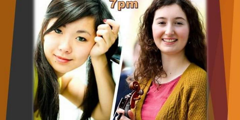 Memories: an evening of music - Aviva Chertok & Shirley Wu