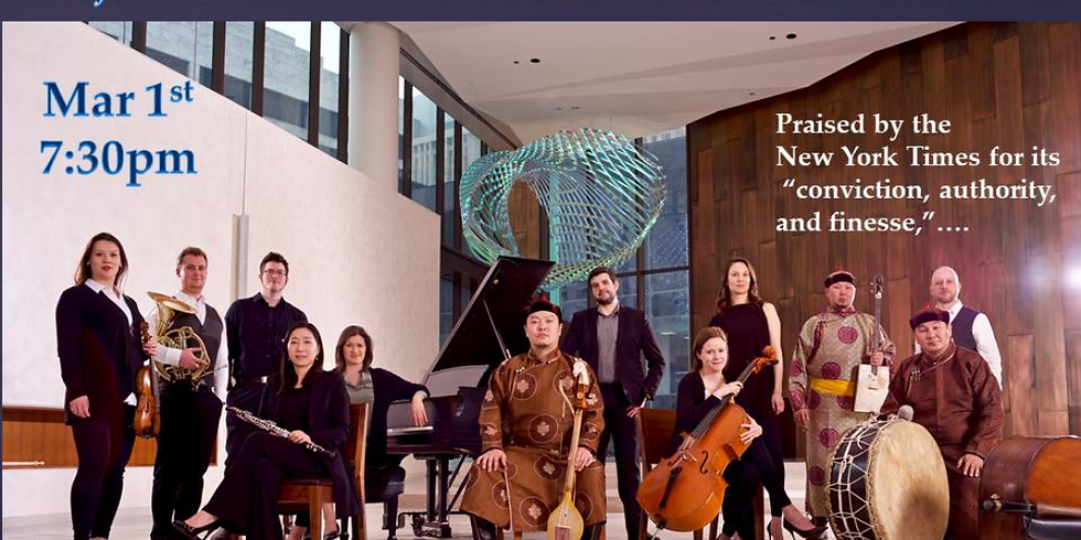 Fifth House Ensemble and Alash: Sonic Meditations - Concert)