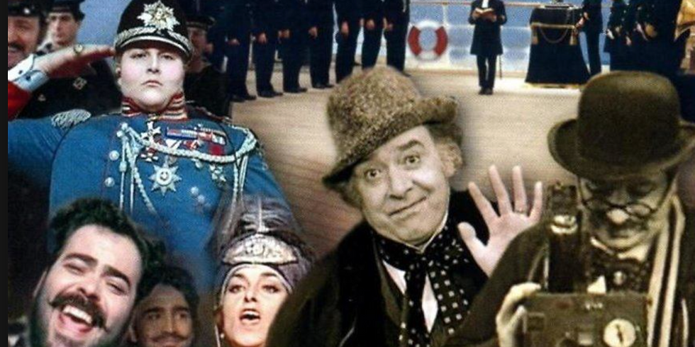 Шедевры мирового кино - Ведущий - Pежиссёp А. Яхнис