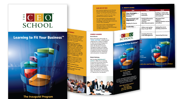Logo, Brochure Design and print