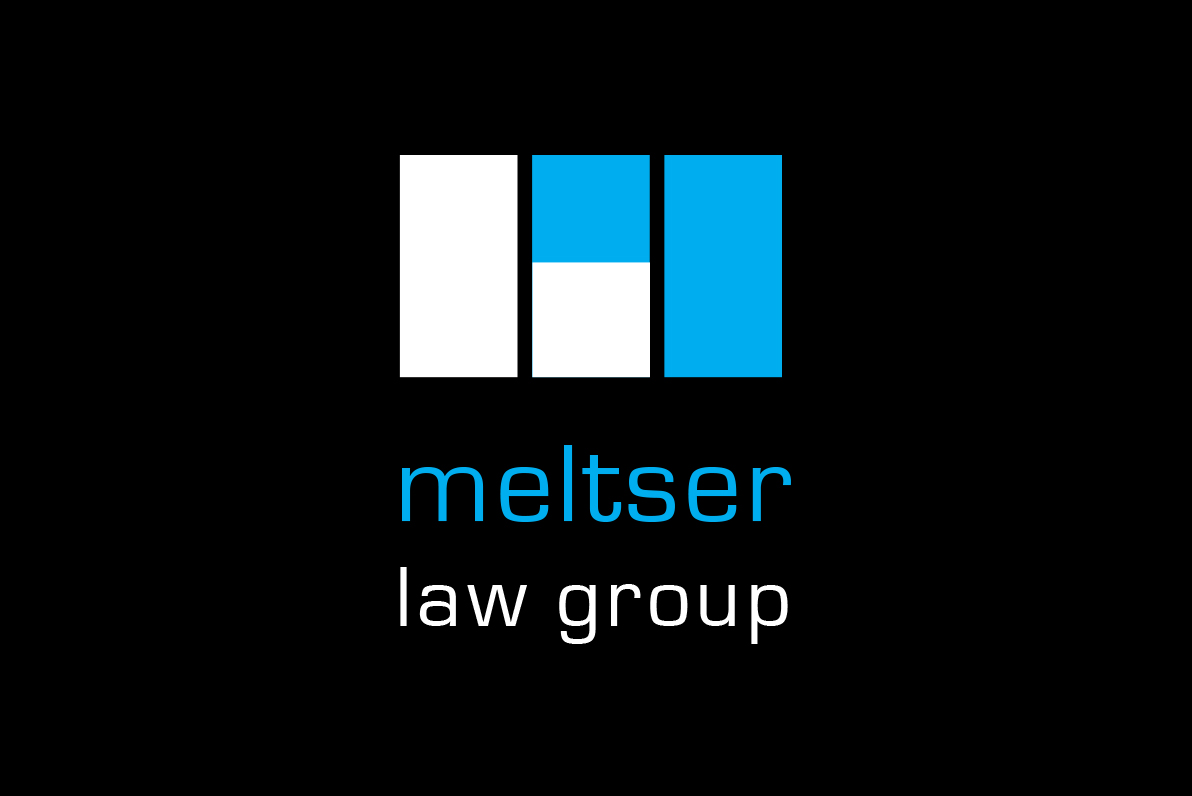 Graphic design for Meltser Law