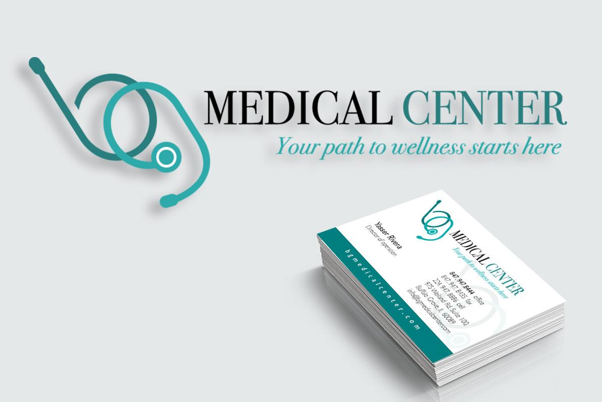 BG Medical Center branding