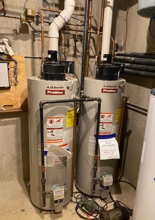 Water heater repair before
