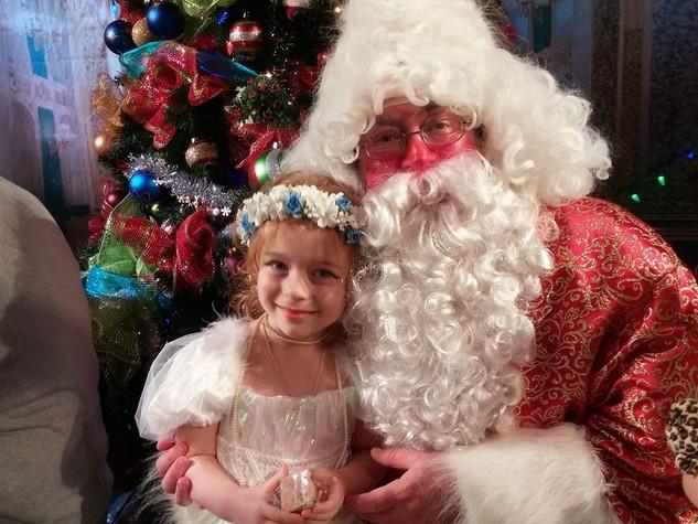 Santa Claus and summer