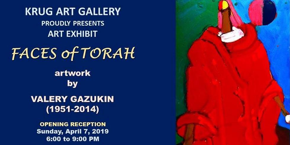 Faces of Torah - by Valery Gazukin (1951 - 2014)