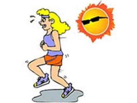 Blog #30   Exercising in the Heat