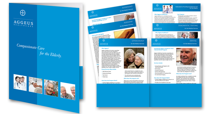 Folder with Inserts design and Print