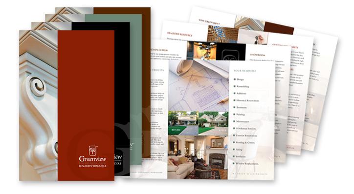 Brochure Design fpr Greenview Homes