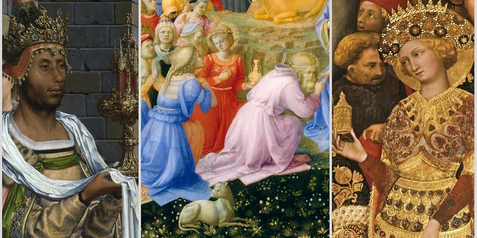 Волхвы и подарки в искусстве Возрождения