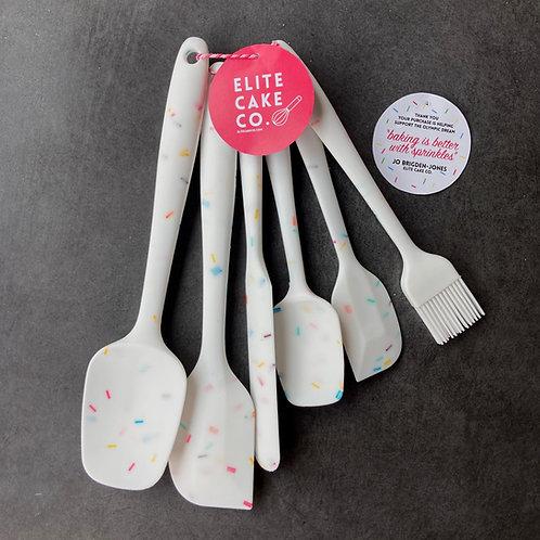 Sprinkle spatula set