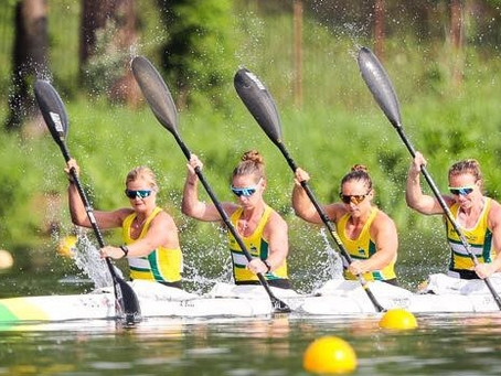 Women's K4 spearheads Australian team selected for 2018 Sprint World Championships
