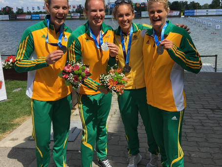 NEW AUSTRALIAN CREW WINS STUNNING SILVER AT CANOE SPRINT WORLD CUP