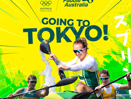 Canoe Sprint Paddlers confirmed for Tokyo Olympics