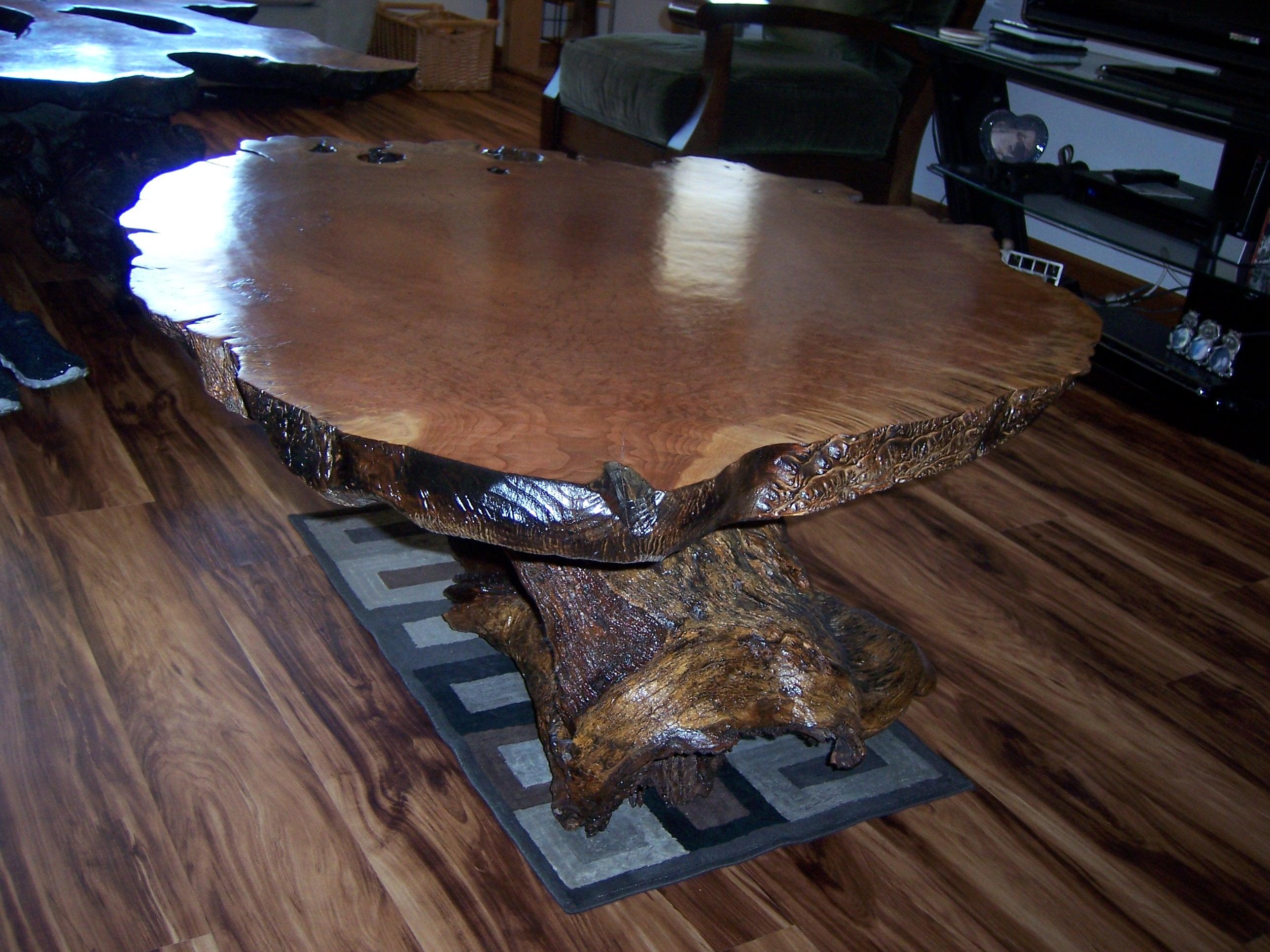 Lace Burl coffee table