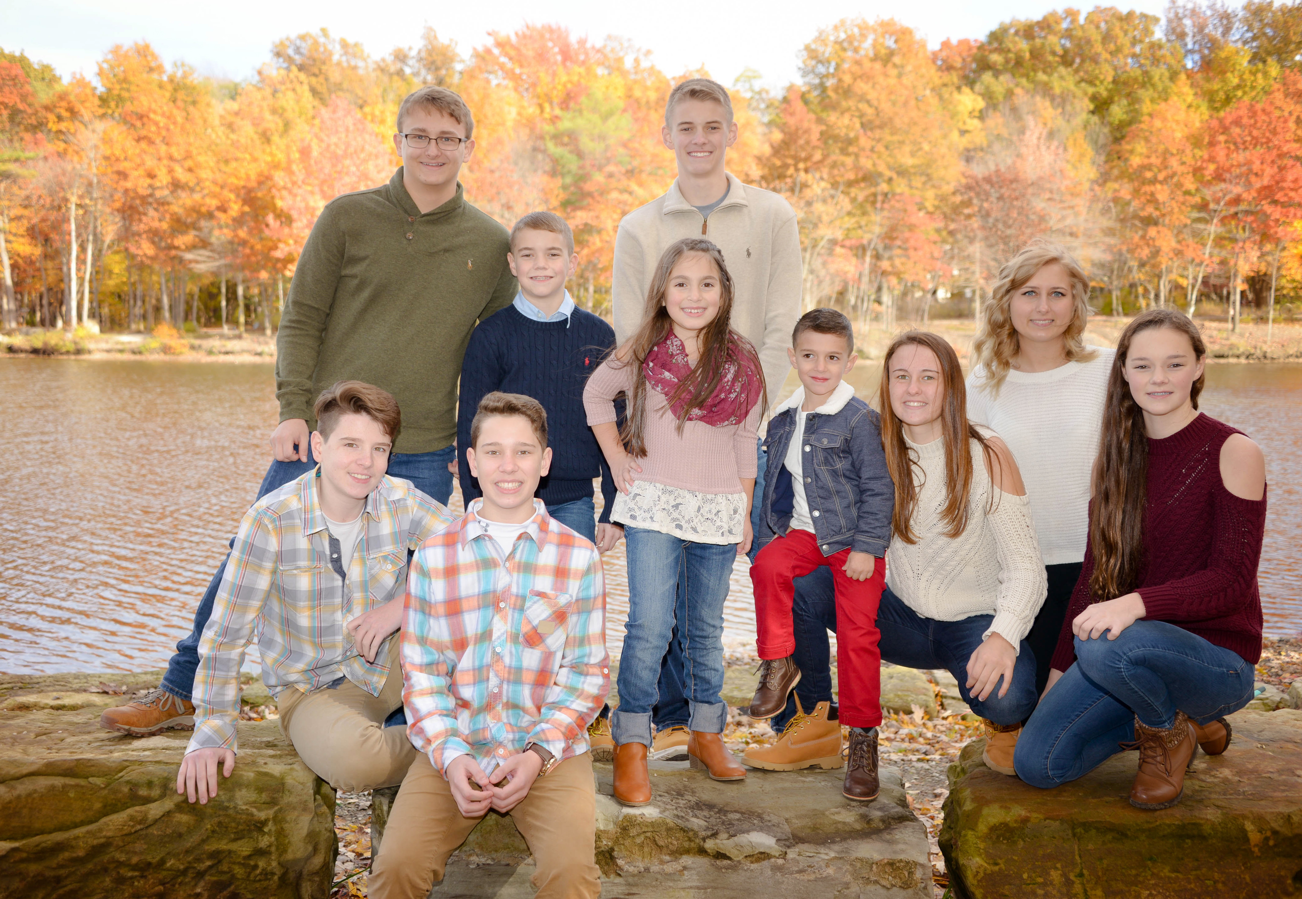cleveland large family photographer