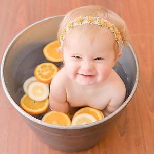 Natalie @ 9 Months