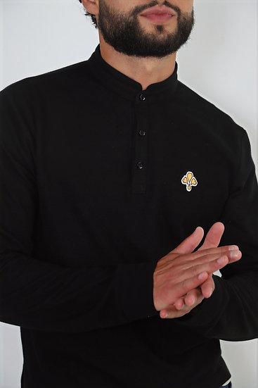 Polo ♂  Casual - Noir
